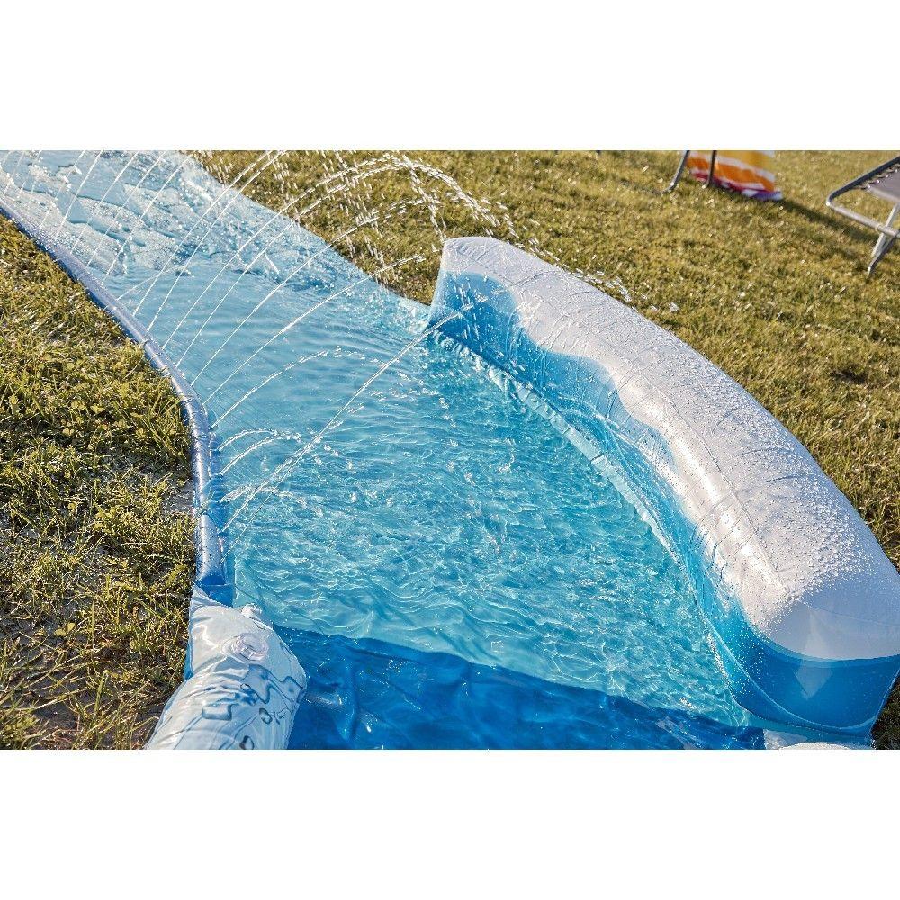 tapis de glisse incurve avec jets d eau