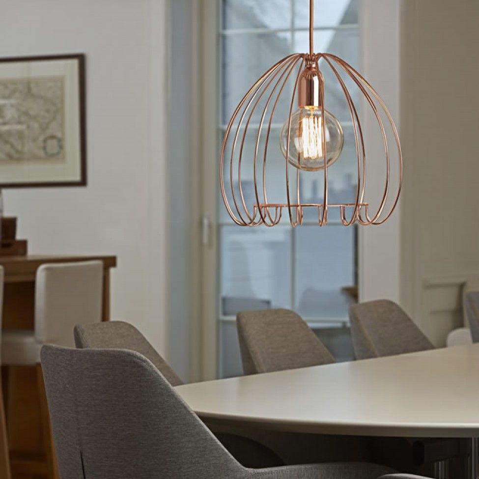 industrial contemporary lighting. Cage Copper Pendant Light By Nordlux 83103030 Industrial Contemporary Lighting D