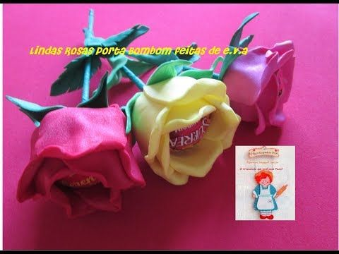 Rosa Porta Bombom de e.va - YouTube