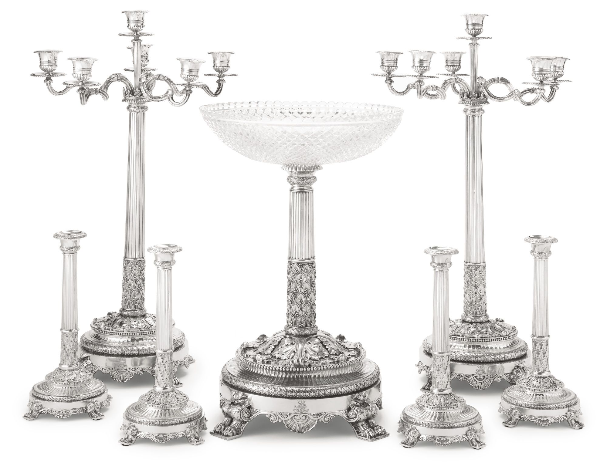centre table and epergne | sotheby's n09068lot759hden