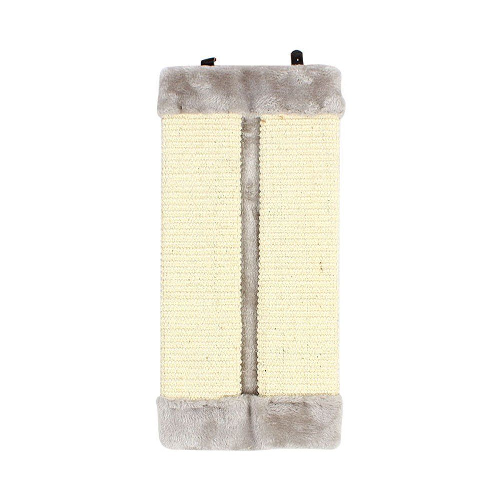 PrettyMeet Cats Scratch Pad Durable Sisal Hemp Scratching Post Cat Pets Scratcher with Soft Plush Edge *** Review more details here : Cat scratching post