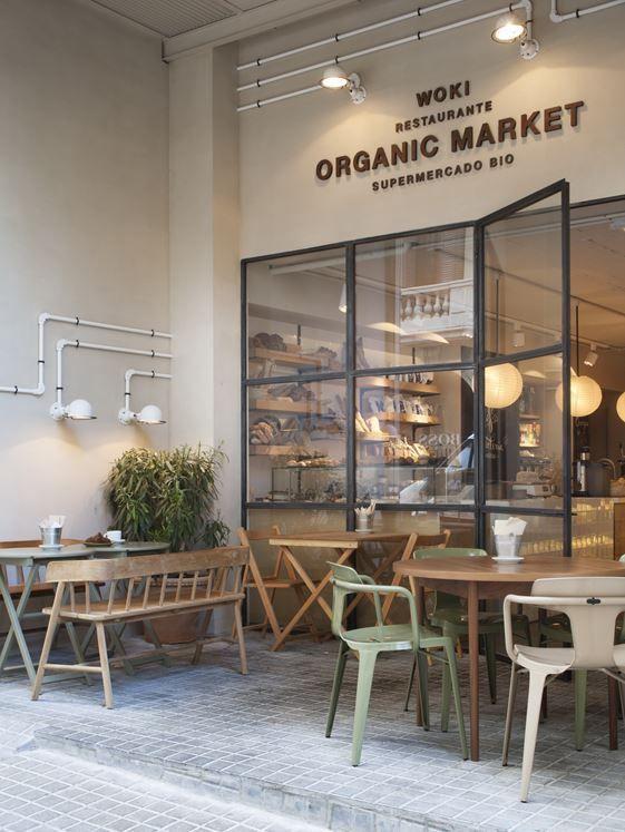 WOKI ORGANIC MARKET / Restaurante CÉLERI – Picture gallery