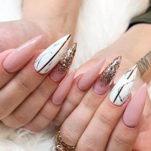 Go And Embrace The Acrylic Nails Trend That Never Fails In Making Any Lady Look Like
