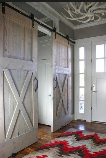 For this price you may choose two doors approximately 36 x 82. You may choose if you would like an X or a Z or a mid brace or any of the