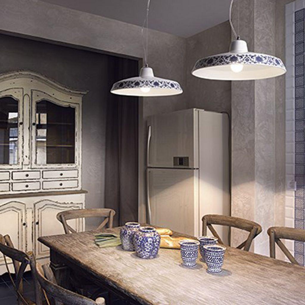 Ideal Lux Bassano D35 - Pendelleuchte/Küchenleuchte | Gemütliche ...