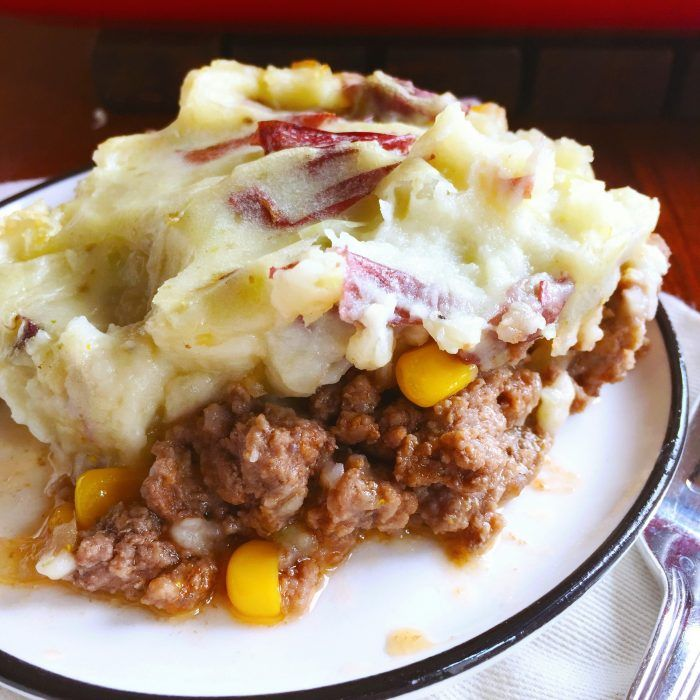Country Meat And Mashed Potatoes Casserole Recipe Recipes Food Mashed Potato Casserole