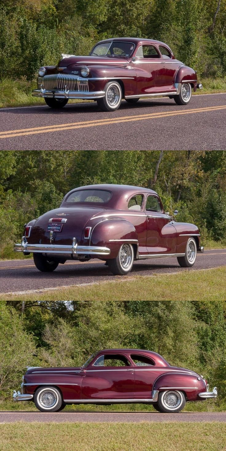 1948 DeSoto Deluxe Club Coupe