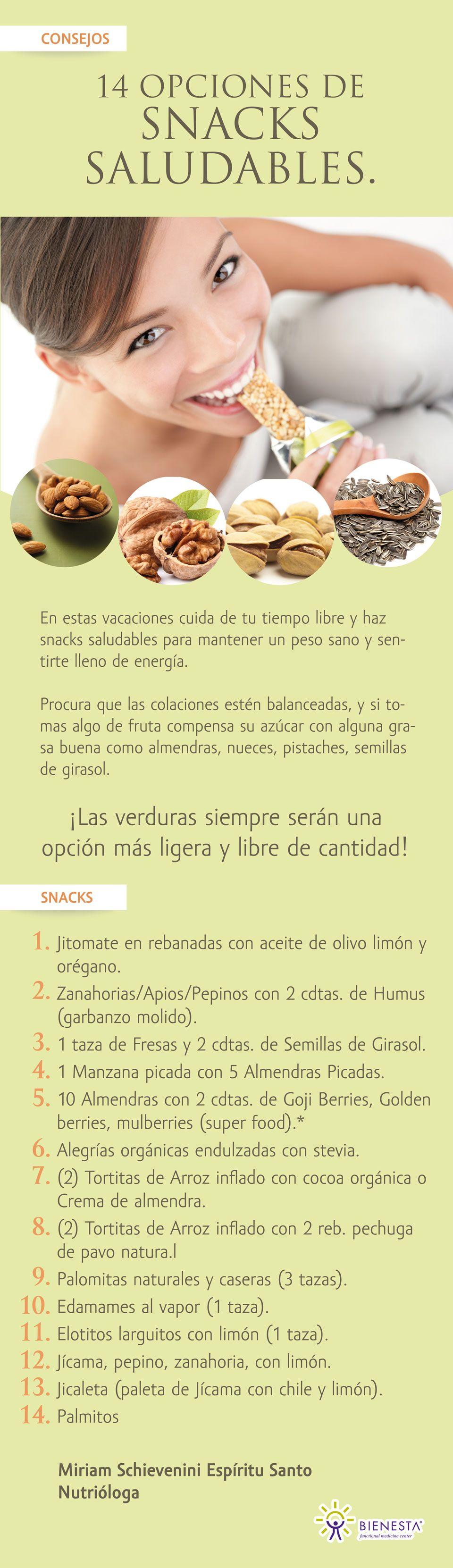 SNACKS_SALUDABLESOP Snacks saludables, Salud, Snack