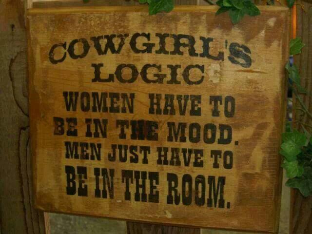 Cowgirl Logic