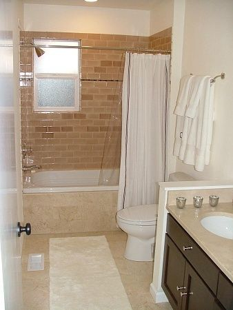 Bathroom Remodel Guest Bathroomdscfjpg Rental Bathroom - Rental bathroom remodel