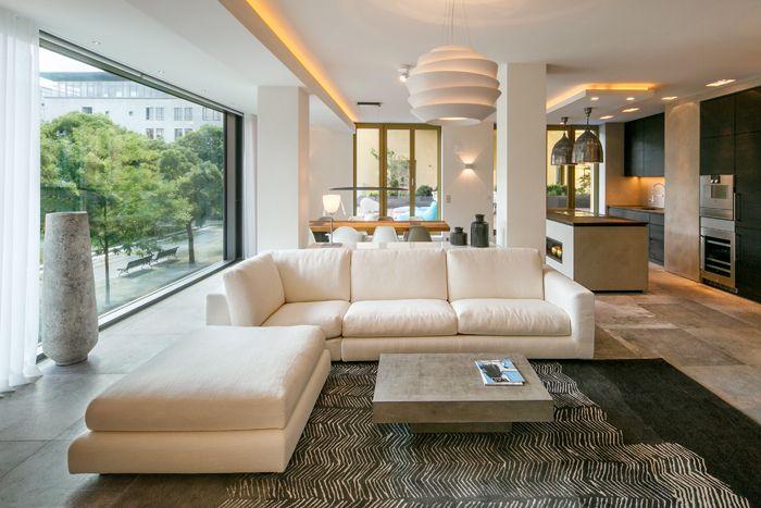 Exklusiver Wohnbereich Berlin Mitte - Crownhill-Interieur