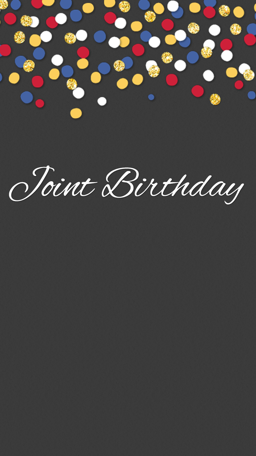 Celebrate A Joint Birthday With This Free Paperless Evite Invitation