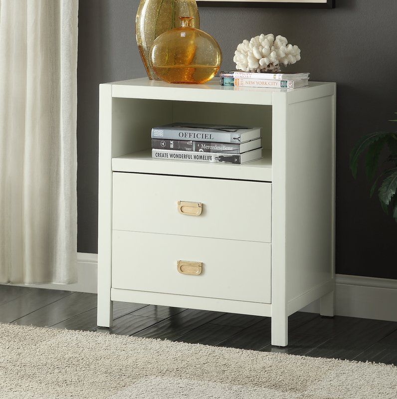 Best Antonina End Table With Storage With Images End Tables 640 x 480