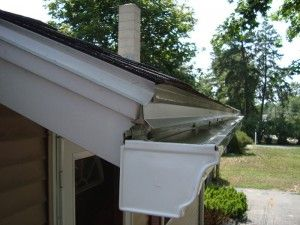 Drip Edge Extension Prevents Rainwater From Leaking Behind Your Gutters