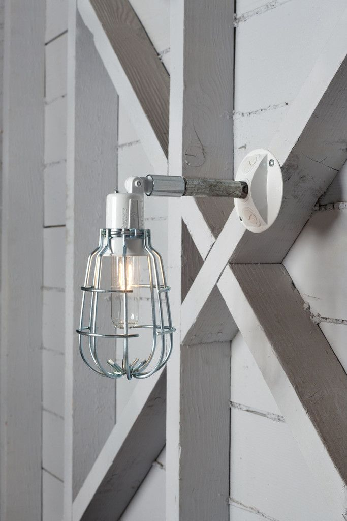 industrial wall light outdoor wire cage exterior wall sconce lamp rh pinterest com