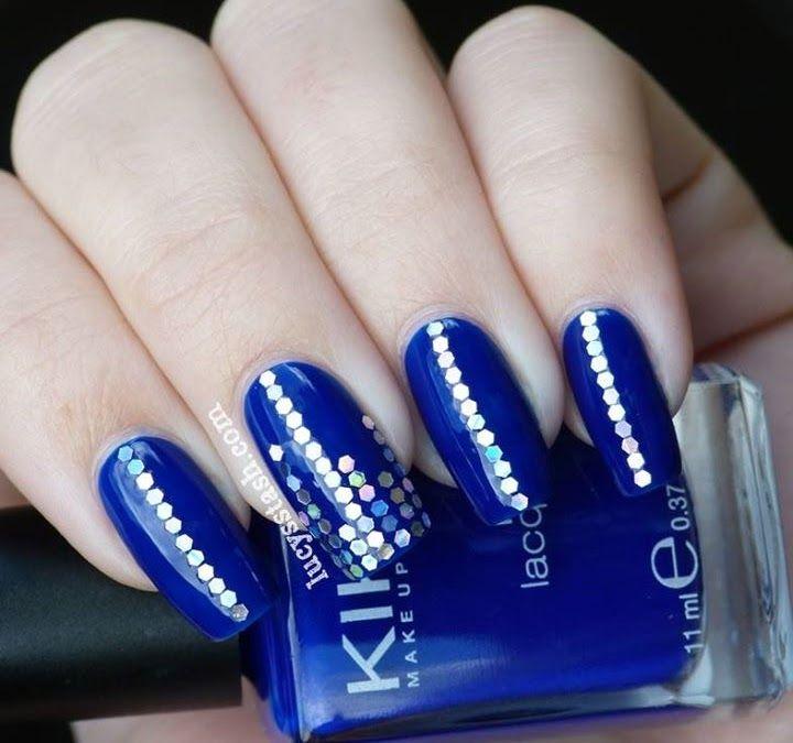 Dise o y decoraci n de u as unhas nails blue azules 2016 - Unas azules decoradas ...