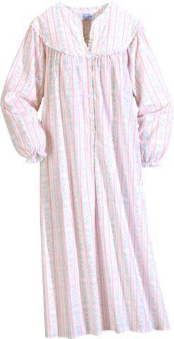 128afa15c8 Lanz of Salzburg Flannel Nightgown