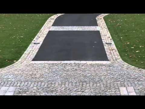 Natural Stone Driveway   Cobblestone Driveway Options