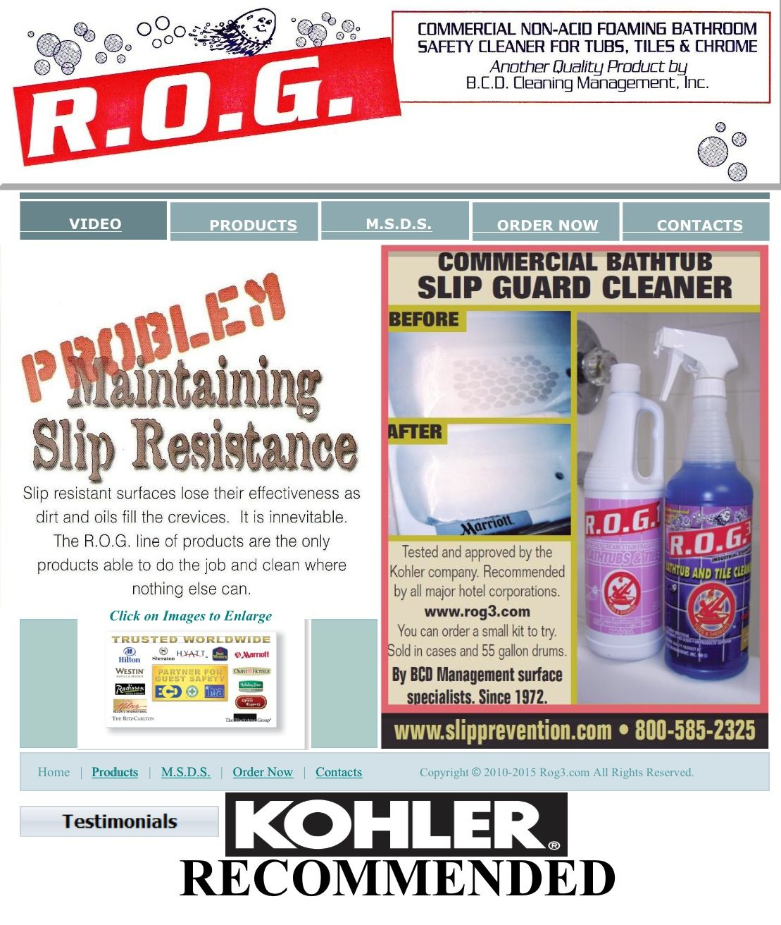 This is our ROG website to order the cleaner please choose the ROG ...