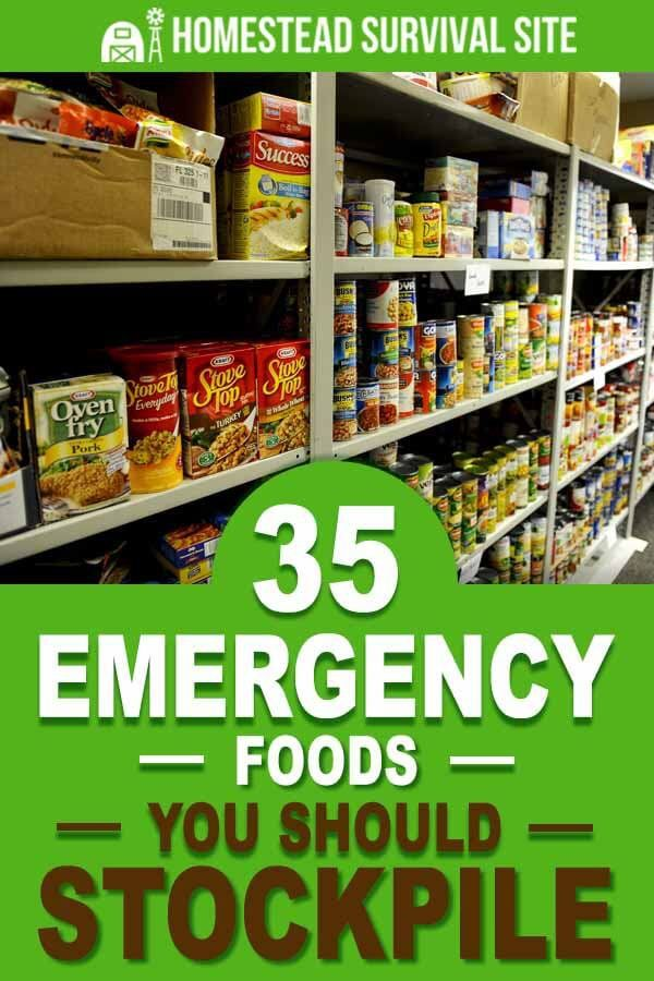 35 Emergency Foods You Should Stockpile