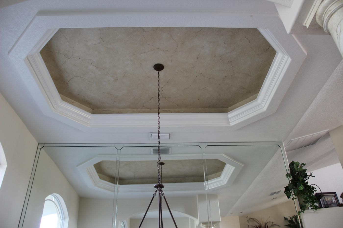 Tray ceiling designs what color should i paint my tray for Ceiling paint colors ideas