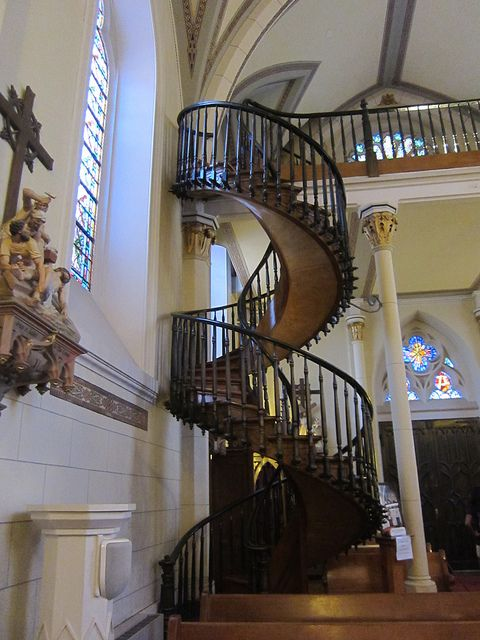 Best The Unsupported Staircase At Loretto Chapel In Santa Fe 640 x 480