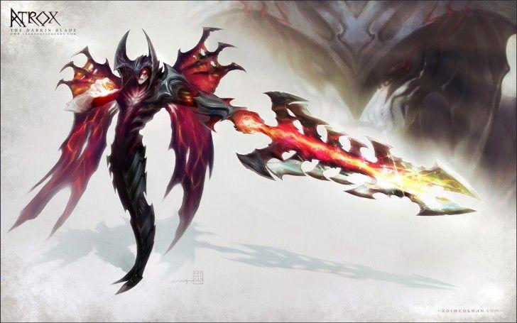 Aatrox League Of Legends Lol X2 League Of Legends Pinterest