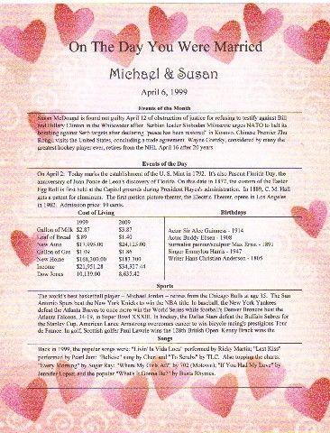 40th 50th 60th Wedding Anniversary Keepsake Gift 1200 Via Etsy I Totally Wanna