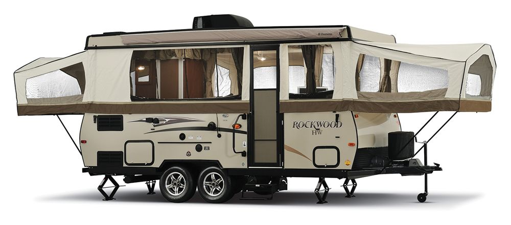 Pop Up Roundup Popup Camper For Sale Camper Rockwood Campers