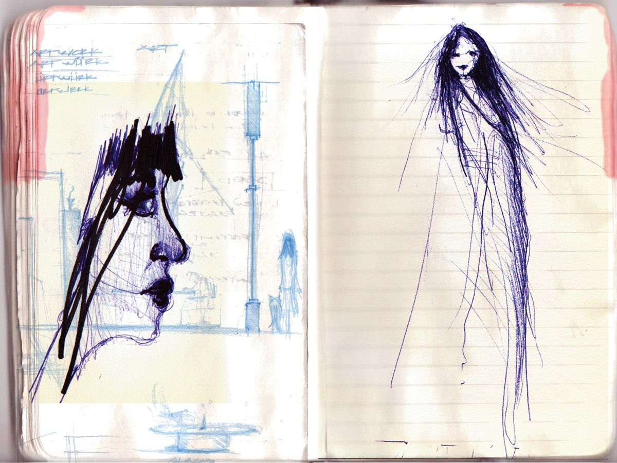 From the digital sketch book the little black book http