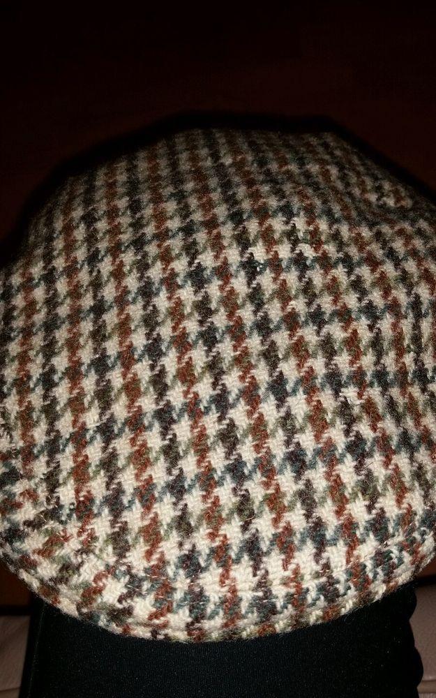 VINTAGE Men s Cap-The Rutland County Cap-Dunn   Co.-Harris Tweed-100% wool-  Smal  CountyCap b261fb578fcd
