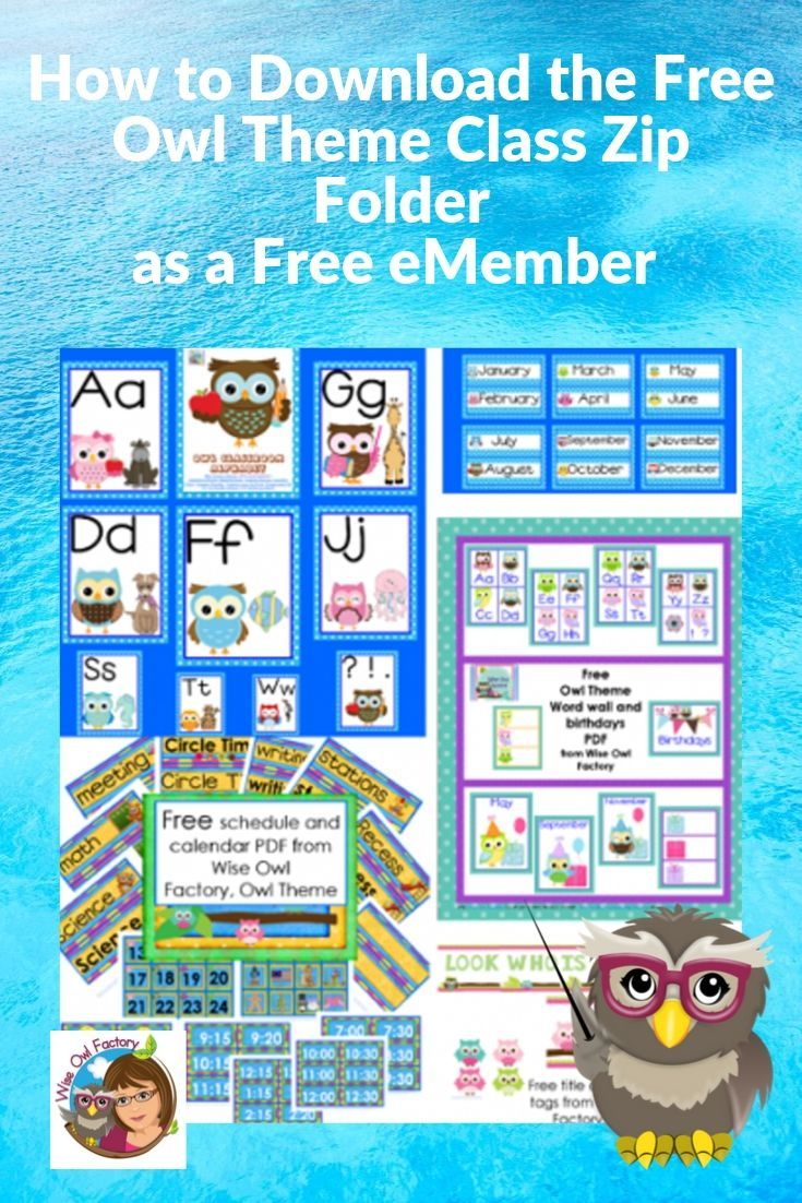 How to Download the Free eMember Owl Theme Class Zip