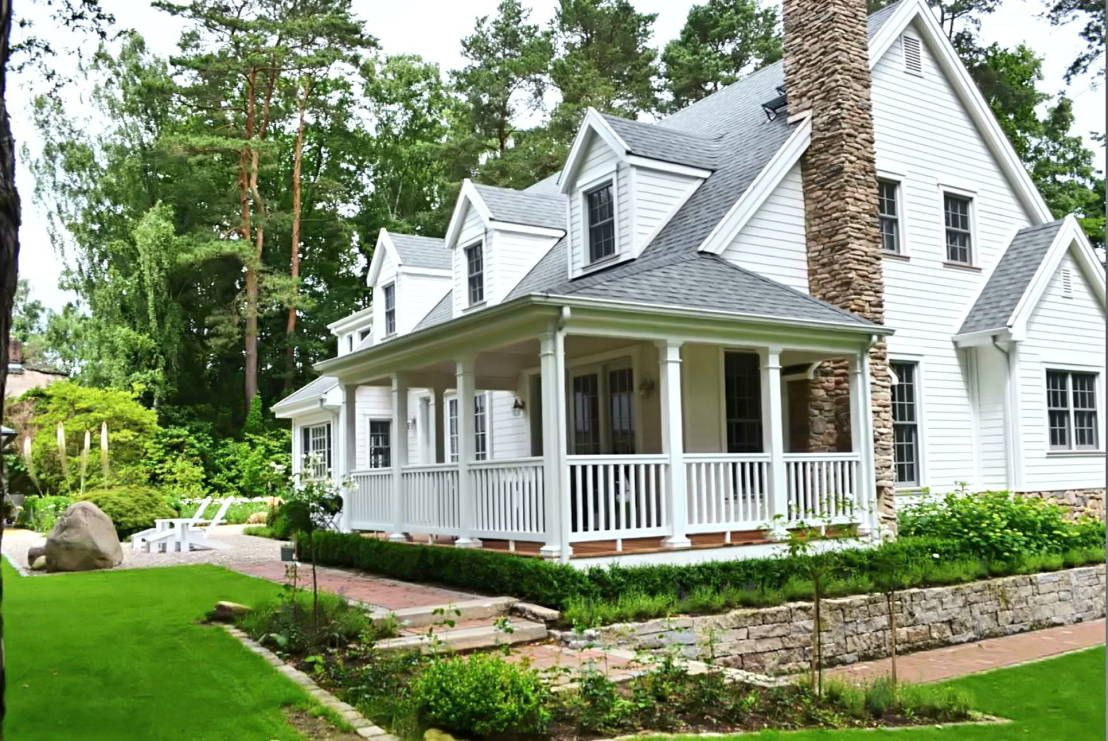 Amerikanisches Fertighaus Inside The American Dream Home | Homify | American Houses, Country Home Exteriors, House Architecture Styles