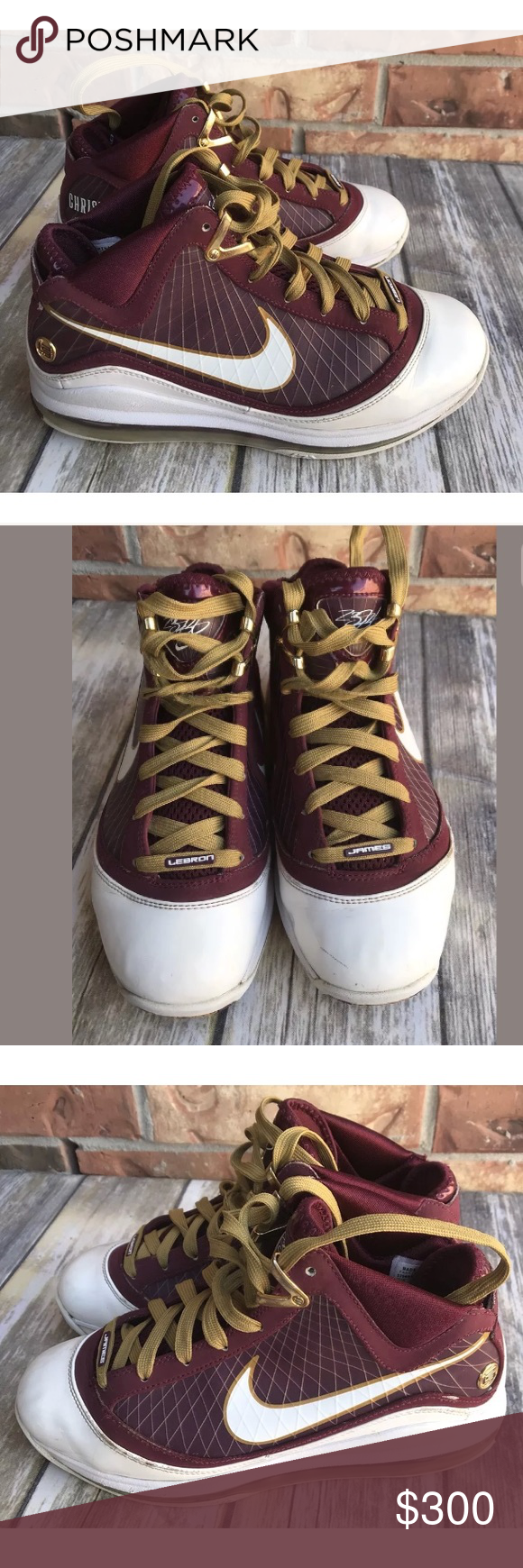 """low priced 57970 8c638 Nike Air Max LeBron 7 """"Christ the King"""" """"CTK"""" sz 7 Nike Air Max LeBron 7 """" Christ the King"""" """"CTK"""" sz 7, 375664-601 Nike LeBron 7 """"Christ the King""""."""