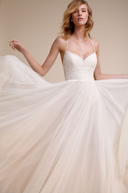 BHLDN Rosalind Gown in  Bride Wedding Dresses   BHLDN