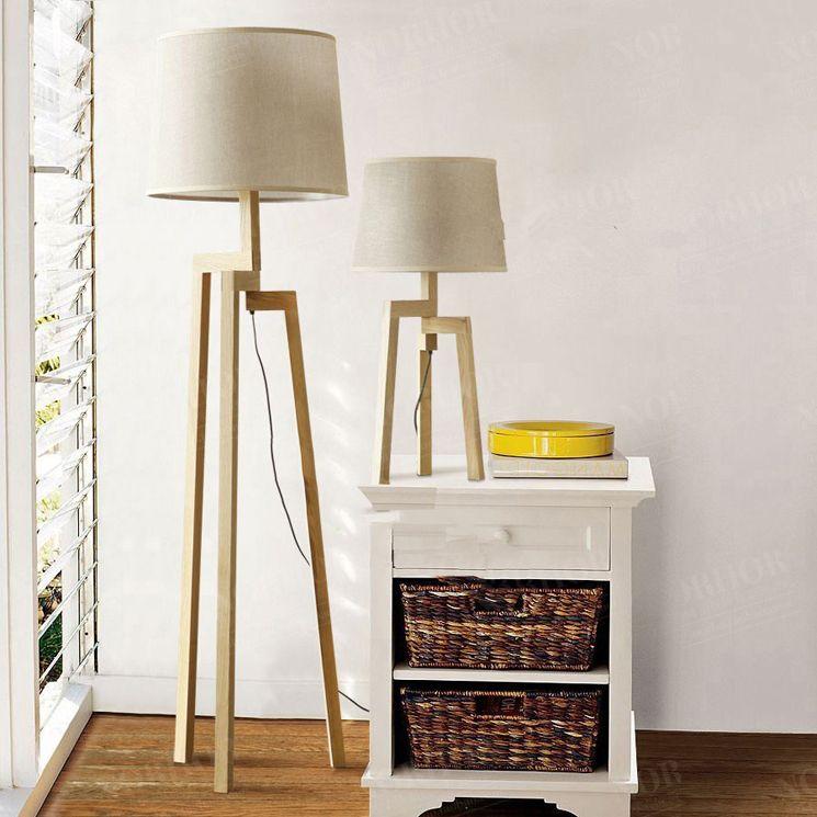 Floor lamp wooden floor lamps ikea with standing ideas and 5 nordic ikea fabric lamp modern minimalist living room bedroom timber wood tripod den on