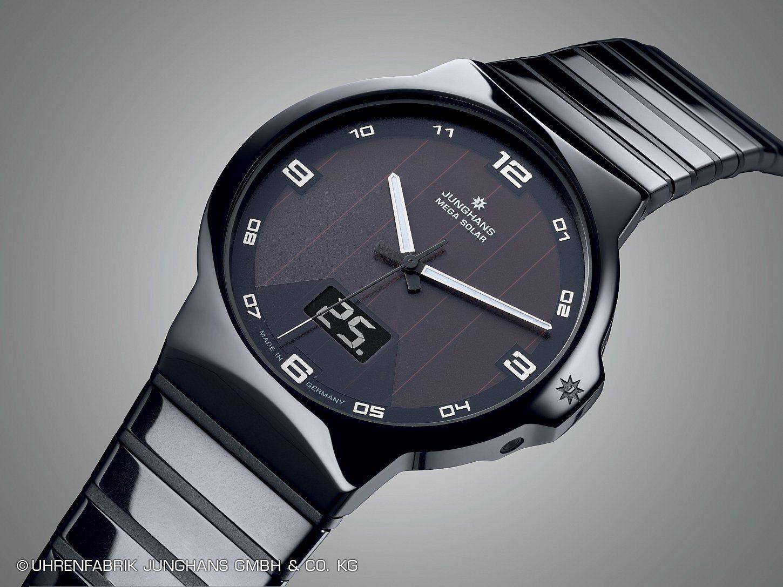 Junghans Force Mega Solar Junghans Samsung Gear Watch Garmin Watch