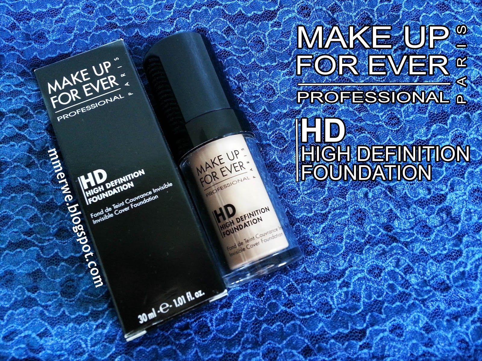 Make Up For Ever Hd Foundation Goruntuler Ile Fondoten Dualar