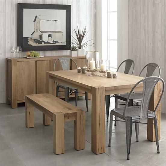 Big Sur Dining Furniture Collection Ac09 By Crate With Images