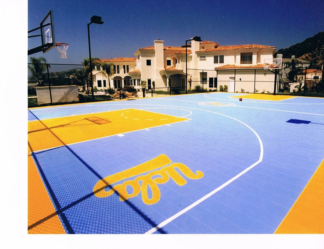 Sport Court Of Southern California Basketball Court Backyard Home Basketball Court Sport Court