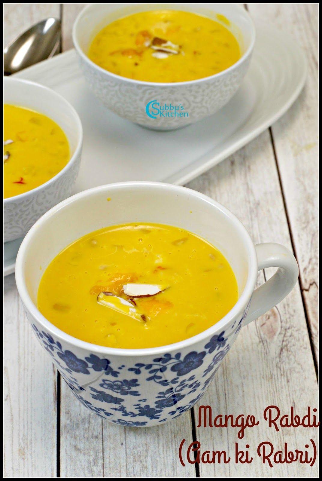 Mango Rabdi Recipe Aam Ki Rabri Recipe Rabri Recipe Rabdi Recipe Recipes