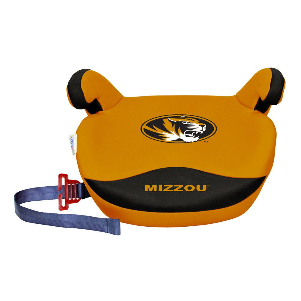 Boost Your Childs Team Pride The Missouri Tigers Slimline No Back Booster Seat By Lil