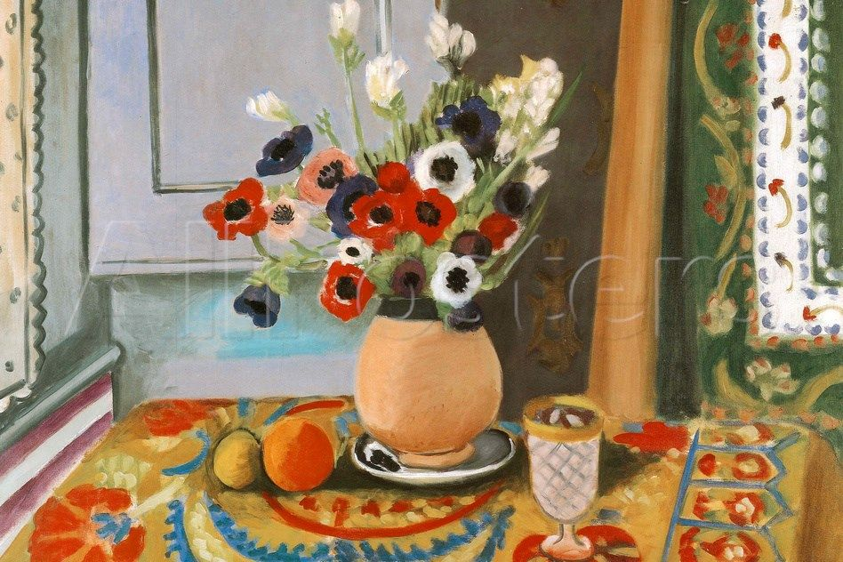 Henri Matisse Les Anemones Flowers Prints Henri Matisse Allposters Com Matisse Art Matisse Paintings Matisse