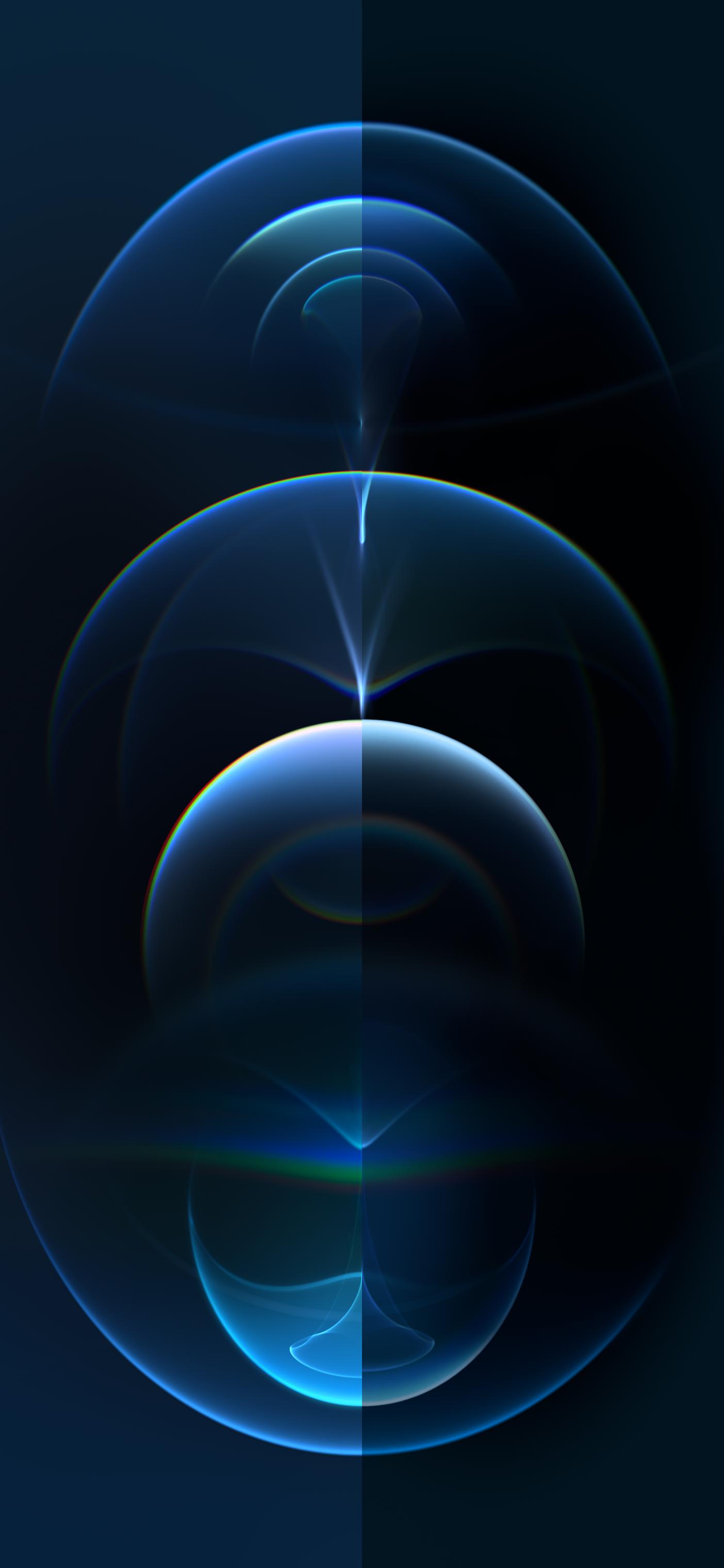Resonance Blue Dark Dual Iphone Lockscreen Wallpaper Dark Phone Wallpapers Iphone Homescreen Wallpaper