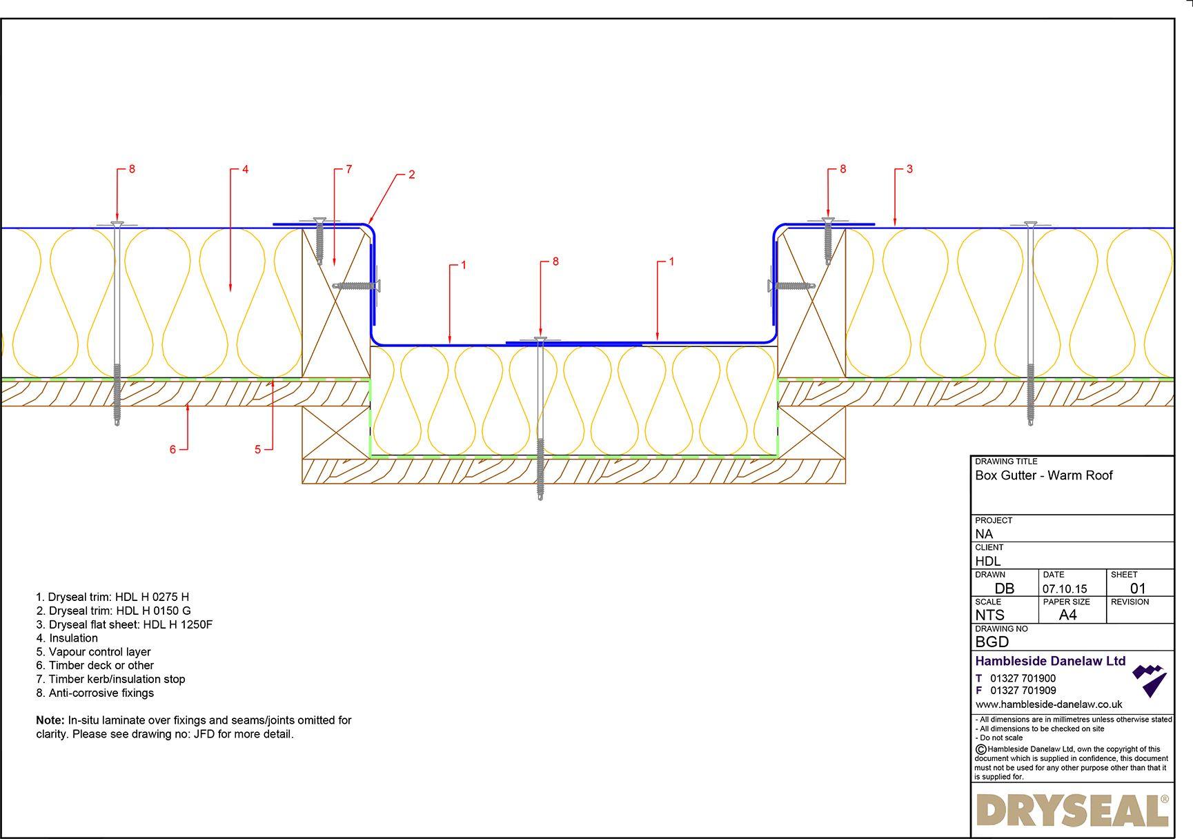 Box Gutter Detail Pdf Downloads Box Gutter Gutter Warm Roof