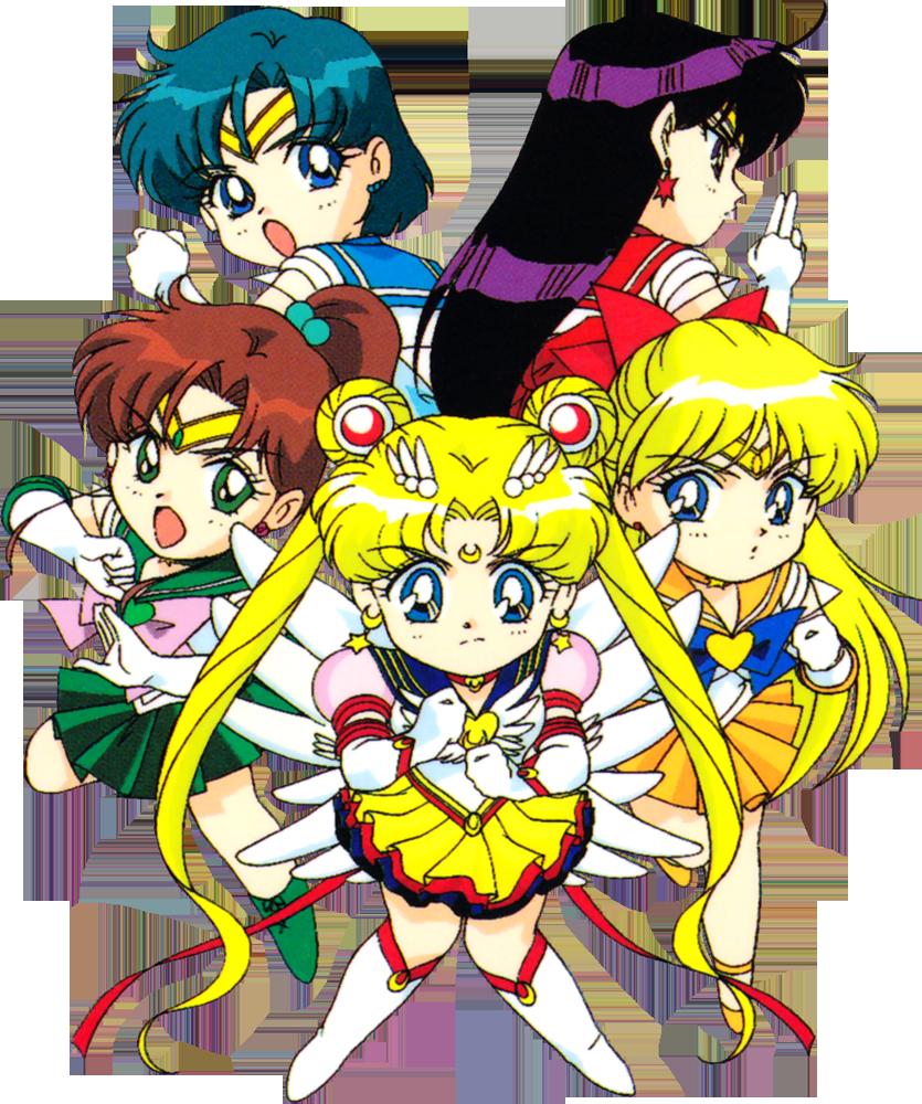 Sailor Moon Sailor Mercury Sailor Mars Sailor Jupiter Sailor Venus Inners Png Sailor Moon Manga Sailor Moon Stars Sailor Moon