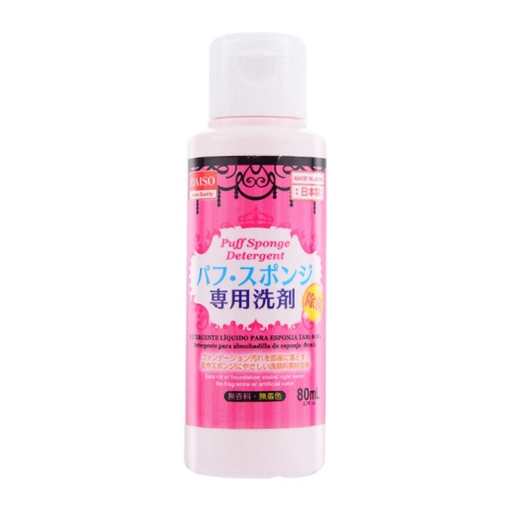 Daiso 80ml Makeup Puff Sponge Brush Liquid Cleaner Cleanser Detergent In Laundry Detergent From Home Garden On Aliexpress Com Alibab Daiso Laundry Detergent Cleanser