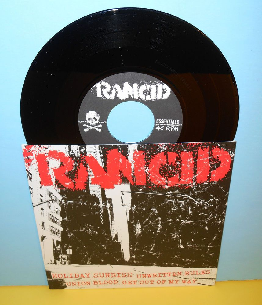 Rancid Holiday Sunrise 4 Song Ep 7 Record Punk Vinyl