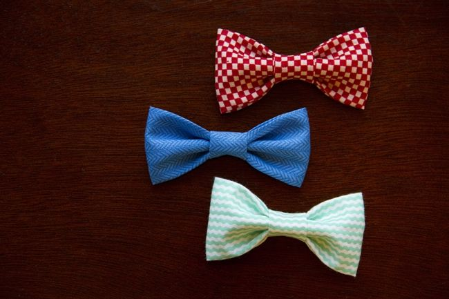 Tutorial: DIY No-Sew Baby Bow Ties