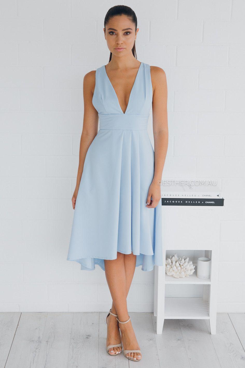 6eb959c41f02f vestido de Jodie - azul